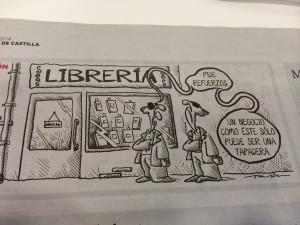 Dos librerías se cierran cada día en España