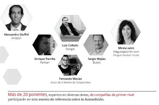Programa definitivo del I Congreso de la Autoedición. Sevilla. 24 y 25 de septiembre de 2015