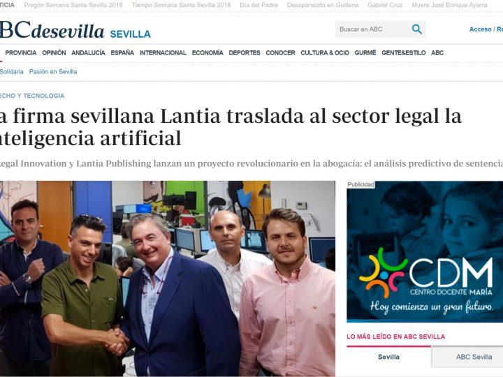 La firma sevillana Lantia traslada al sector legal la inteligencia artificial