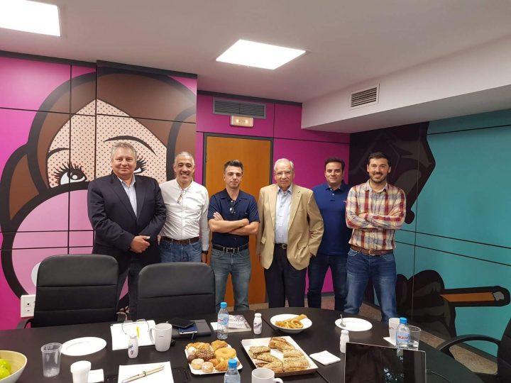 Recibimos una visita especial en las oficinas de Lantia